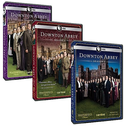 Downton Abbey Complete Seasons 1, 2, & 3