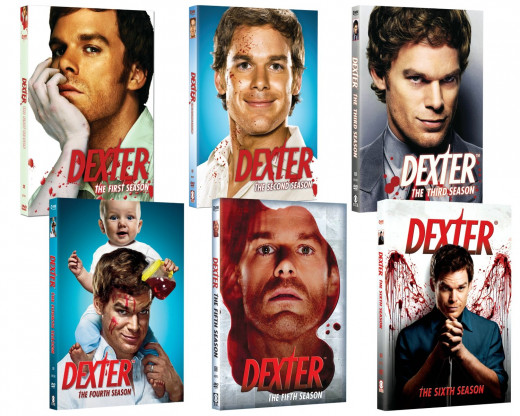 Dexter: Seasons 1-6