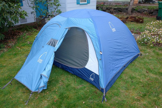 Typical Dome Tent
