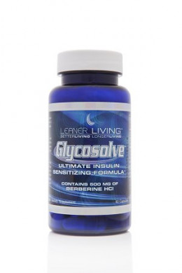 Bottle of Glycosolve 500mg