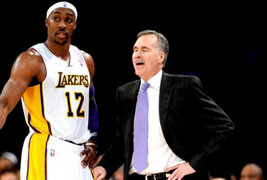 Dwight Howard and Mike D'Antoni
