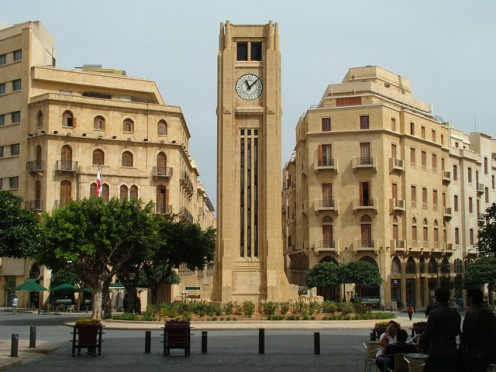 From downtown Beirut