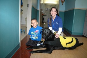 Animal assisted therapy can be of great benefit to children who have autism.
