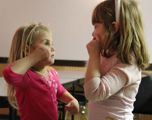 Sign language can be used to provide or improve communication skills in children with autism.