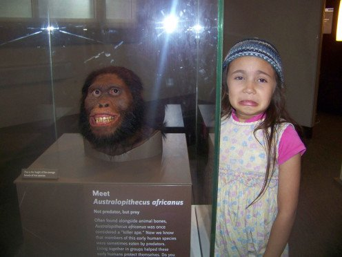 Where else can you gross out a child with a prehistoric human head? How about the Smithsonian Museum of Natural History?