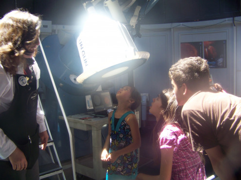 "It's not every day scientists let you directly ""see"" the sun! ** Smithsonian Museum of Air and Space"