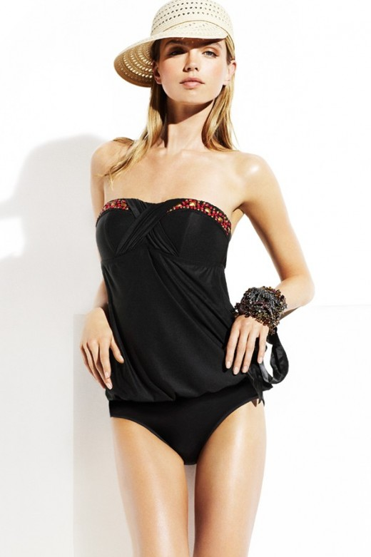 St. Tropez Tankini by Badgley Mischka