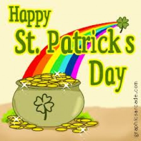 St. Patrick's Day is on March 17th every year and it is common to have get Togethers.