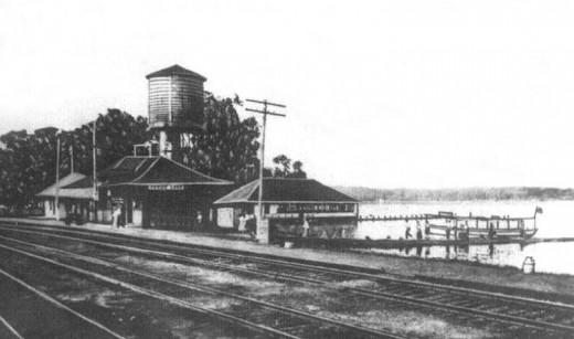 Cedar Lake Depot in its Heyday