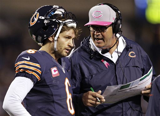 Cutler and Mike Tice