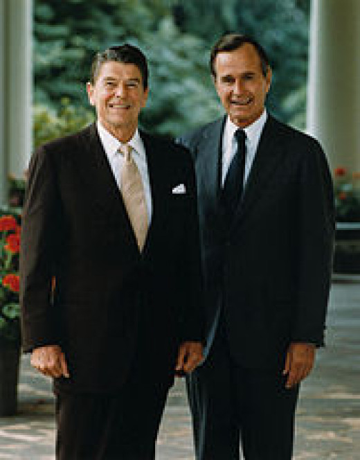 Official Portrait of President Reagan and Vice-President Bush, 1981