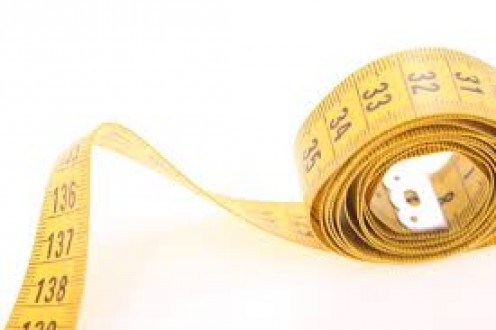 Measuring tape is a handy thing to have around when working with fabrics. You may need to measure the hole.