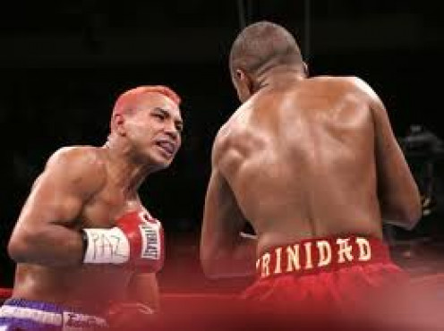Felix Trinidad and Ricardo Mayorga fought a brawl before Tito prevailed by 8th round knockout.