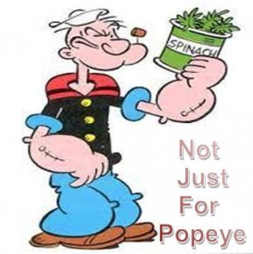 Spinach - It's not just for Popeye.