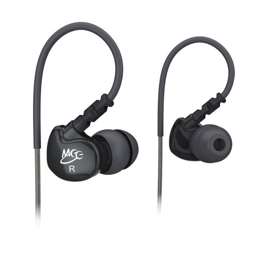 MEElectronics M6-BK-MEE Sport Noise-Isolating In-Ear Headphones with Memory Wire
