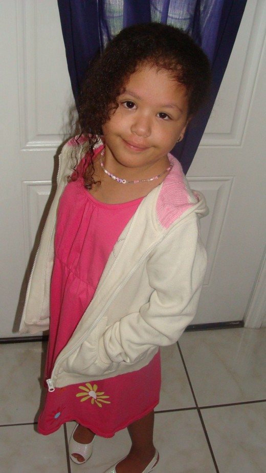 This is my daughter Angel the one who has endured everything I write about