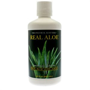 Real Aloe Organically Grown Juice 32oz