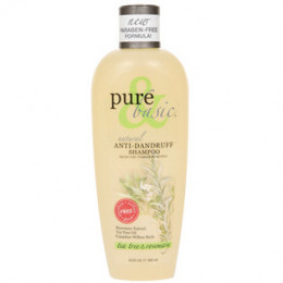 Prue & Basic (paraben free) Tea Tree & Rosemary Dandruff Shampoo