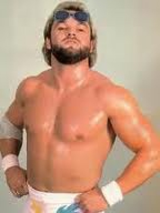 """Hot Stuff"" Eddie Gilbert fought in the ECW and even had a wrestling figurine."
