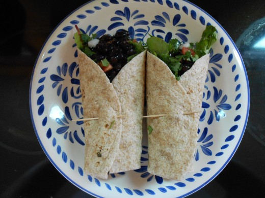 These black bean wraps have a smoky southwest flavor that is as tasty as it is delicious!