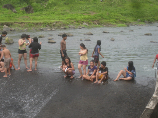 The Magtang Dam,  where local excursionists visit  the irrigation system the whole year round  (Photo Source: Ireno Alcala)