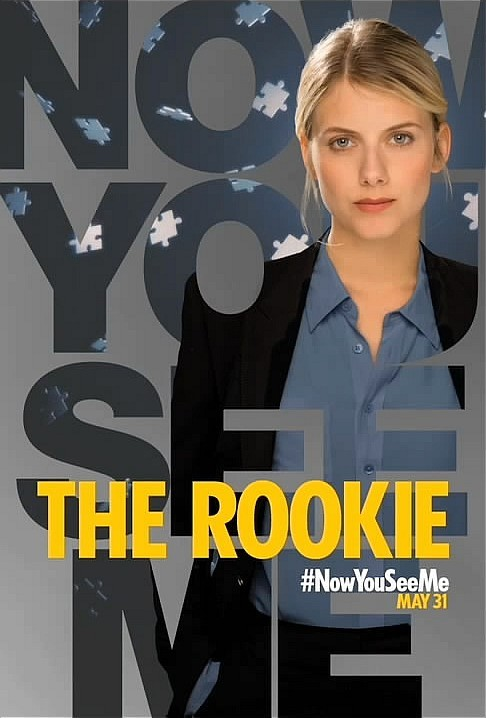 Melanie Laurent - a Rookie French Cop or is she the 5th Horseman?