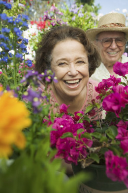 Growing older doesn't mean you can't have good health and happiness.