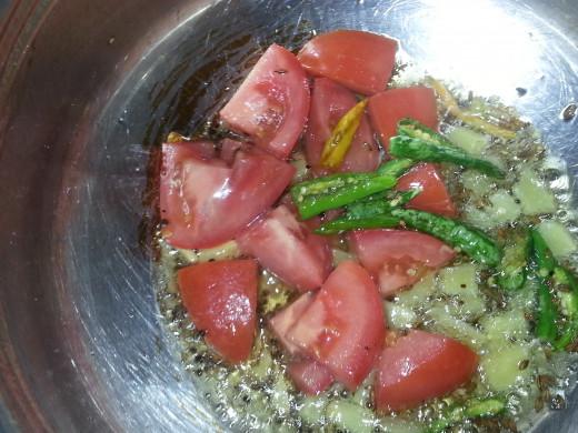Here comes tomato