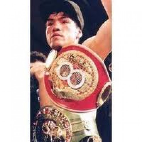 Chiquita Gonzales beat Michael Carbajal two out of three times.
