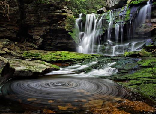 Elakala Falls WV