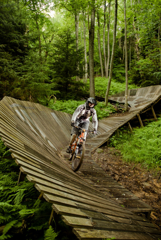 Just one unique Mountain Biking experience in WV