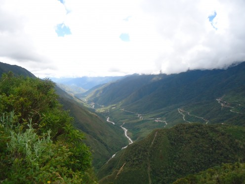 Inca Jungle Trail day 3: Landscape of the Sacred Valley