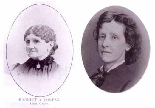 Miss Harriet Colfax and her friend Ann Hartwell