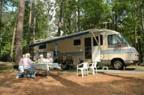 The campgrounds are great for camping out and grilling out. The wooded areas make camping out a fun night.