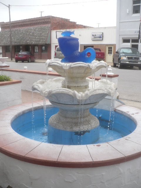 Greentown Indiana fountain