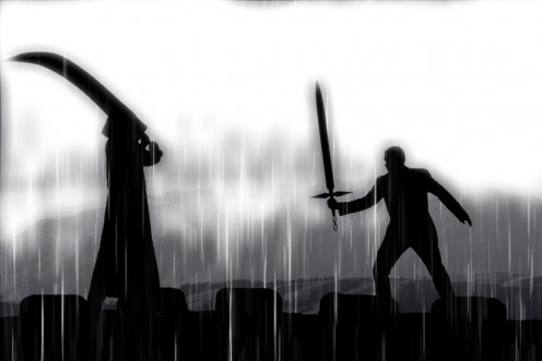 The final battle.