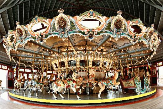 Glen Echo Park's 1921 Dentzel Carousel