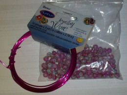 Choose beads or chips and wire