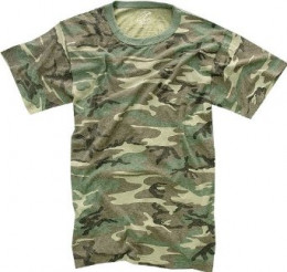Vintage camouflage t-shirt