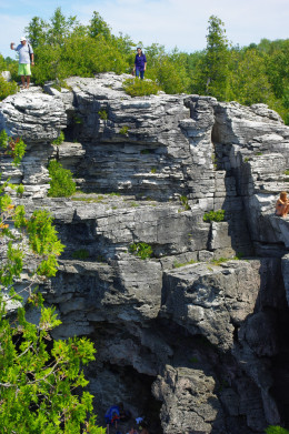Not a cliff jumper.