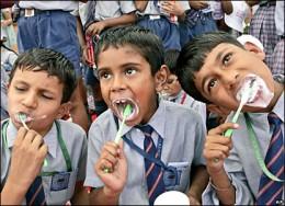 Indian Public School Kids