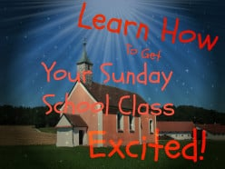 How to Get Your Sunday School Class Excited Again