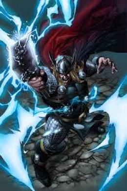 There is a lot of great Thor artwork on the 'net.