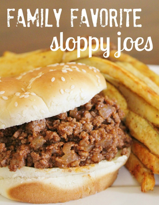 Sloppy Joes are a family favorite.
