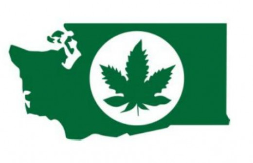 Washington State Liquor Control Board Marijuana product indicator: this will be on the packaging of every product which has cannabis within its ingredients