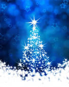 A Christmas tree filled with best wishes for all