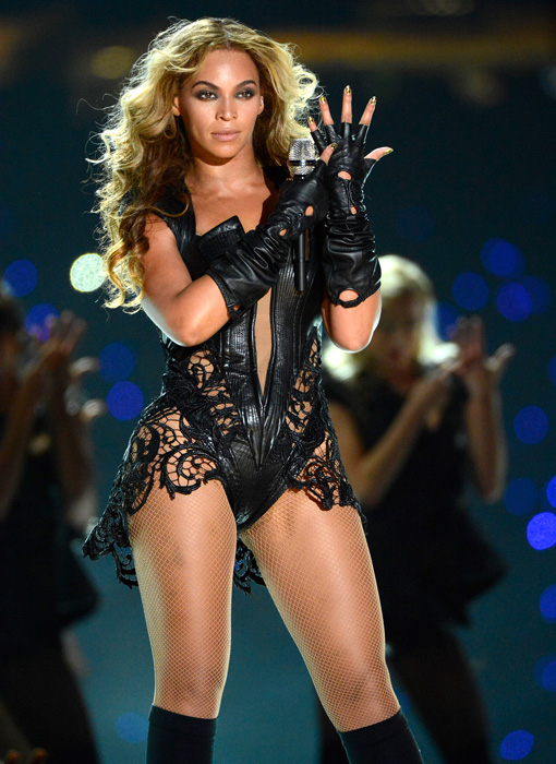 Does this outfit mean Beyonce can't be a feminist?