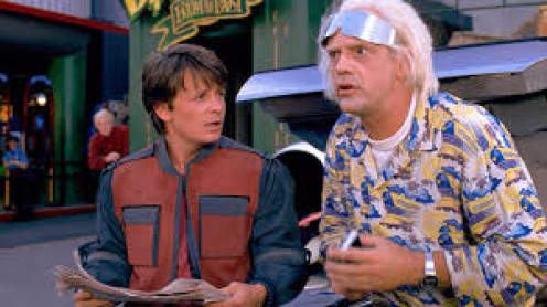 Michael J. Fox plays in Back of the Future which is a science fiction comedy film that had two  sequels. It also has caused the creation of toys and a cartoon based off the movie.