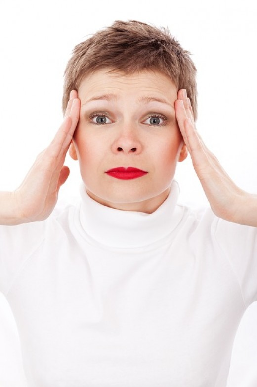 Dizziness, confusion, and headaches are common during a panic