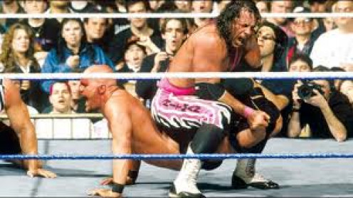 Bret Hart and Stone Cold Steve Austin fought ferociously against one another in Wrestlemania 13.